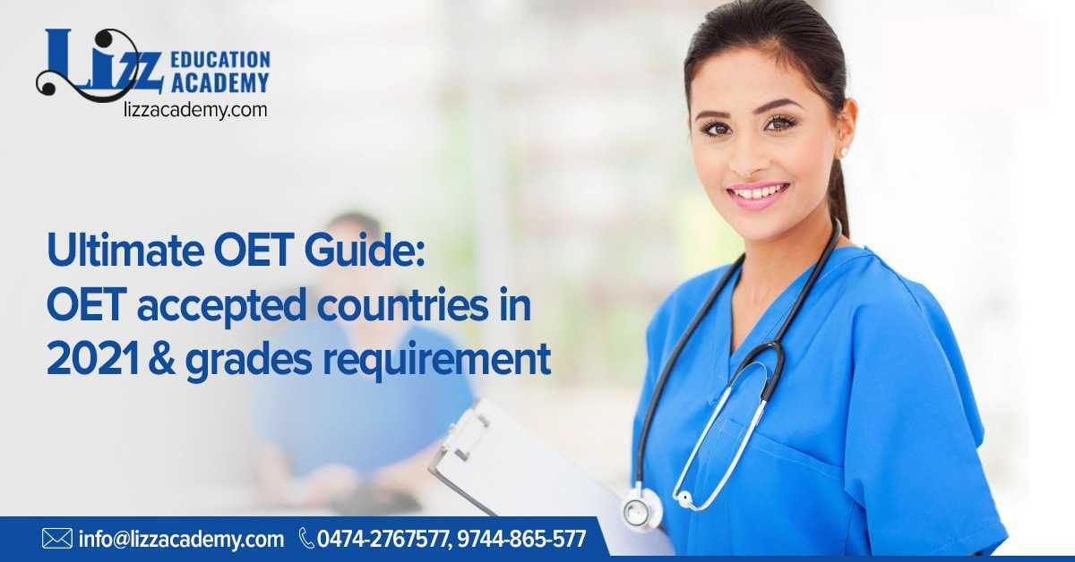 OET accepted countries 2021