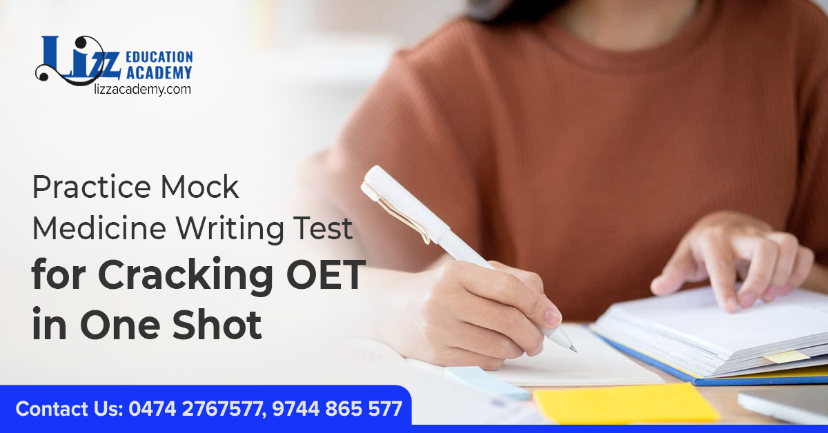 oet writing test pdf